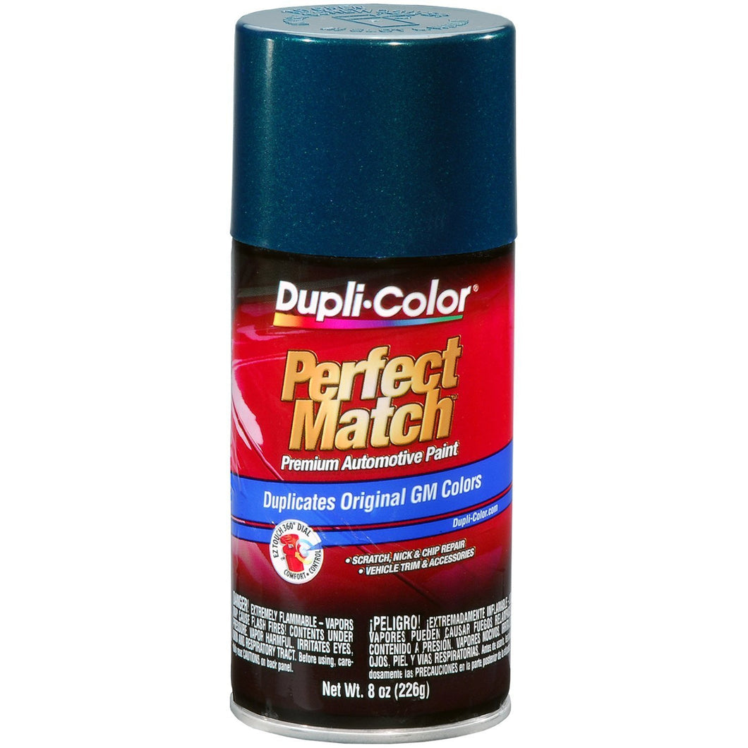 Dupli-Color EBGM05187 Emerald Green Metallic General Motors Exact-Match Automotive Paint - 8 oz. Aerosol