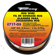 Load image into Gallery viewer, Forney 42300 Flux Core Mig Wire, Mild Steel E71TGS.030-Diameter, 2-Pound Spool