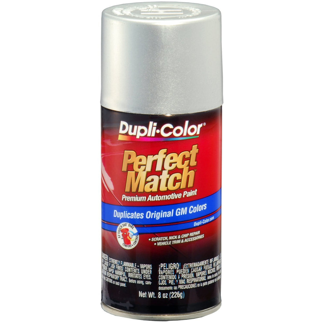 Dupli-Color BGM0501 Galaxy Silver Metallic General Motors Exact-Match Automotive Paint - Aerosol, 8. Fluid_Ounces