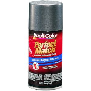 Dupli-Color BGM0347 Medium Gray Metallic General Motors Exact-Match Automotive Paint - 8 oz. Aerosol