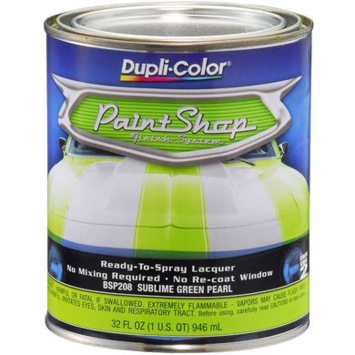 Dupli-Color BSP208 Sublime Green Single Pearl Paint Shop Finish System