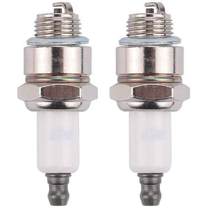 Hilom Pack of 2 796112 796112S Spark Plug for Champion J19LM RJ19LM Briggs & Stratton 492167 591040 591868 799876 802592 802592S Tecumseh 35395 by Hilom