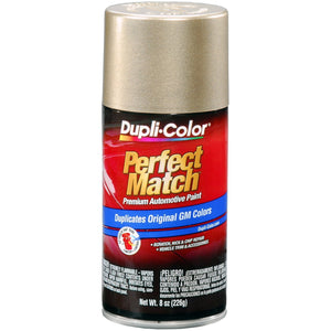 Dupli-Color BGM0457 Light Driftwood Metallic General Motors Exact-Match Automotive Paint - 8 oz. Aerosol