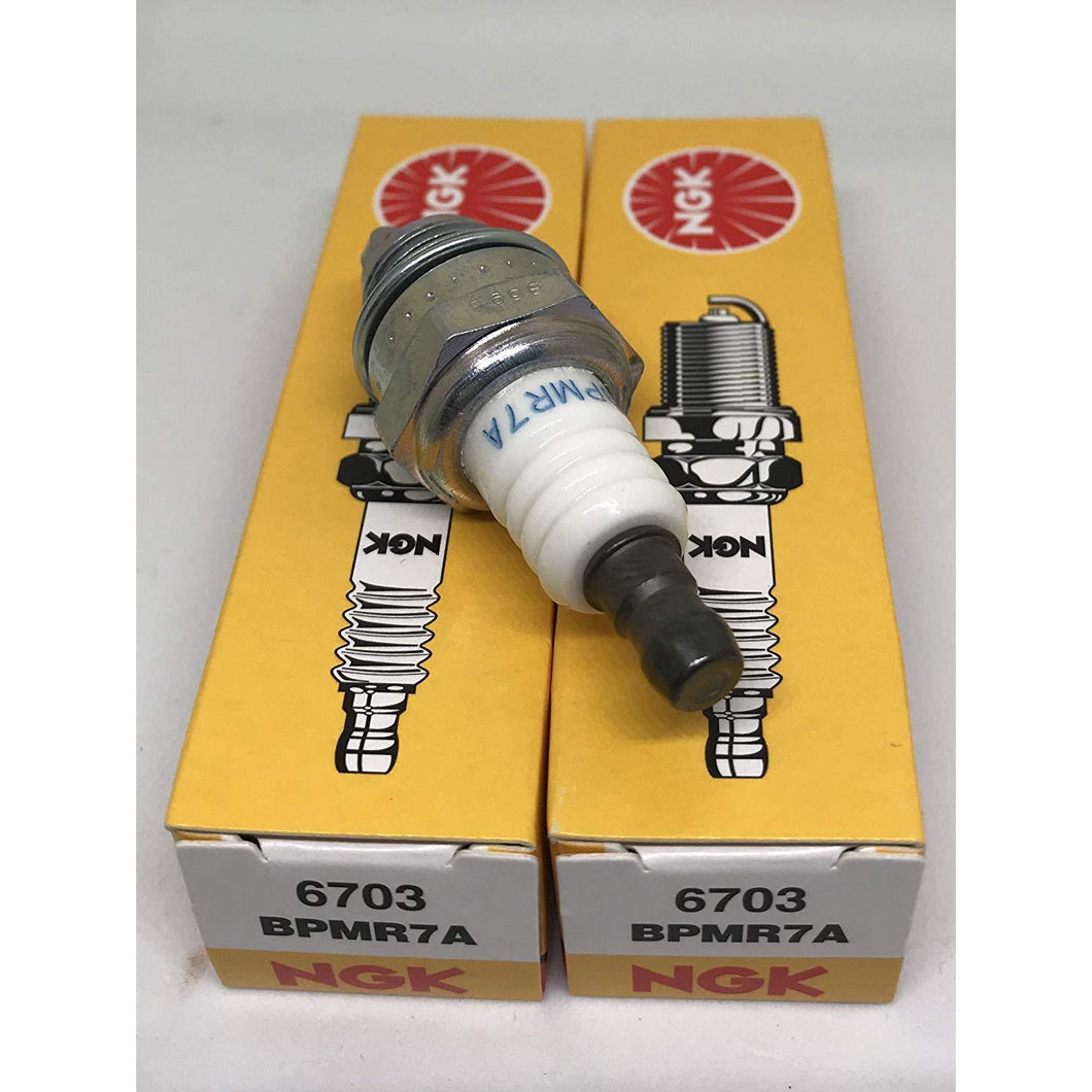 NGK (6703) BPMR7A Spark Plugs Individual Boxed - 2 Pack
