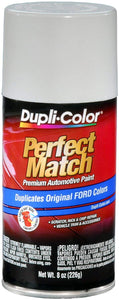 Dupli-Color BFM0229 Oxford White Ford Exact-Match Automotive Paint - 8 oz. Aerosol