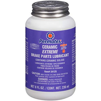 Permatex 24125 Ceramic Extreme Brake Parts Lubricant, 8 oz.