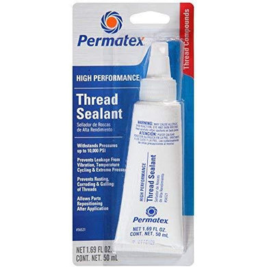 Permatex 56521 High Performance Thread Sealant, 50 ml