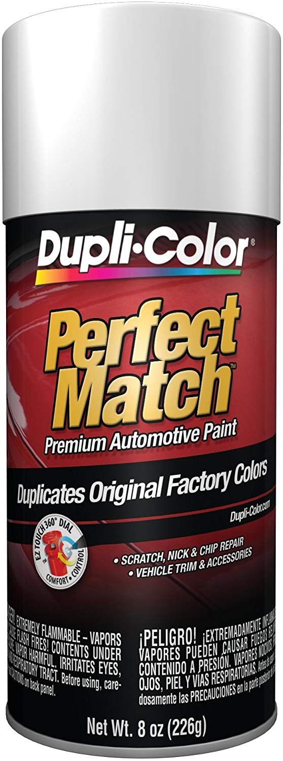 Dupli-Color BUN0300 Universal White Perfect Match Automotive Paint