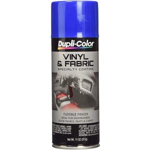 Dupli-Color EHVP10200 Blue High Performance Vinyl and Fabric Spray - 11 oz.