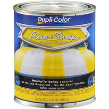 Load image into Gallery viewer, Dupli-Color BSP206 Chrome Yellow Paint Shop Finish System - 32 oz
