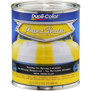 Dupli-Color BSP206 Chrome Yellow Paint Shop Finish System - 32 oz