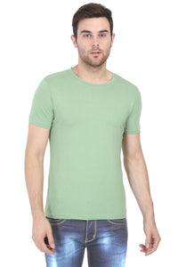 Olive Green Wrinkle free T-shirt