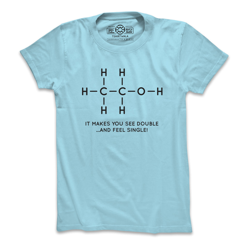 Structure of Alcohol T-shirt