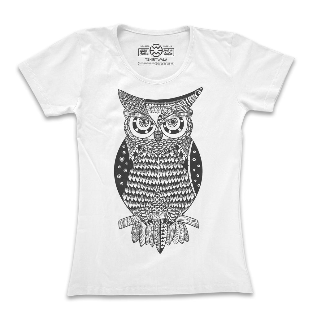 Trippy Owl T-shirt