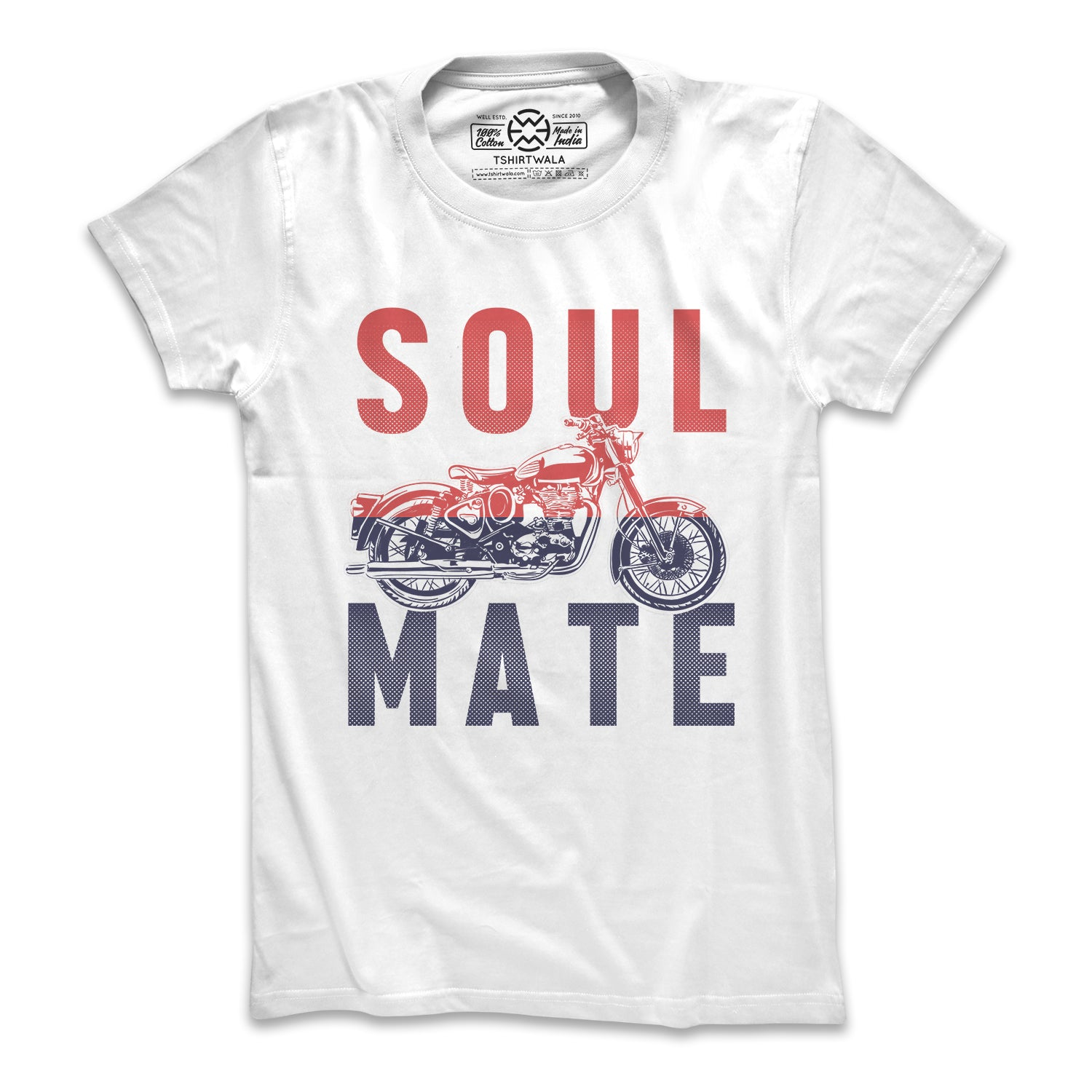 Soul Mate (White) T-shirt