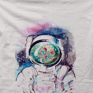 Astronaut Watercolor - All Over Print T-shirt