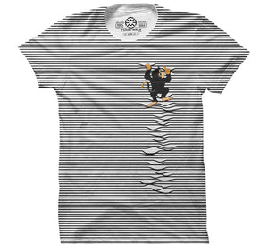Monkey On My Front - All Over Print T-shirt