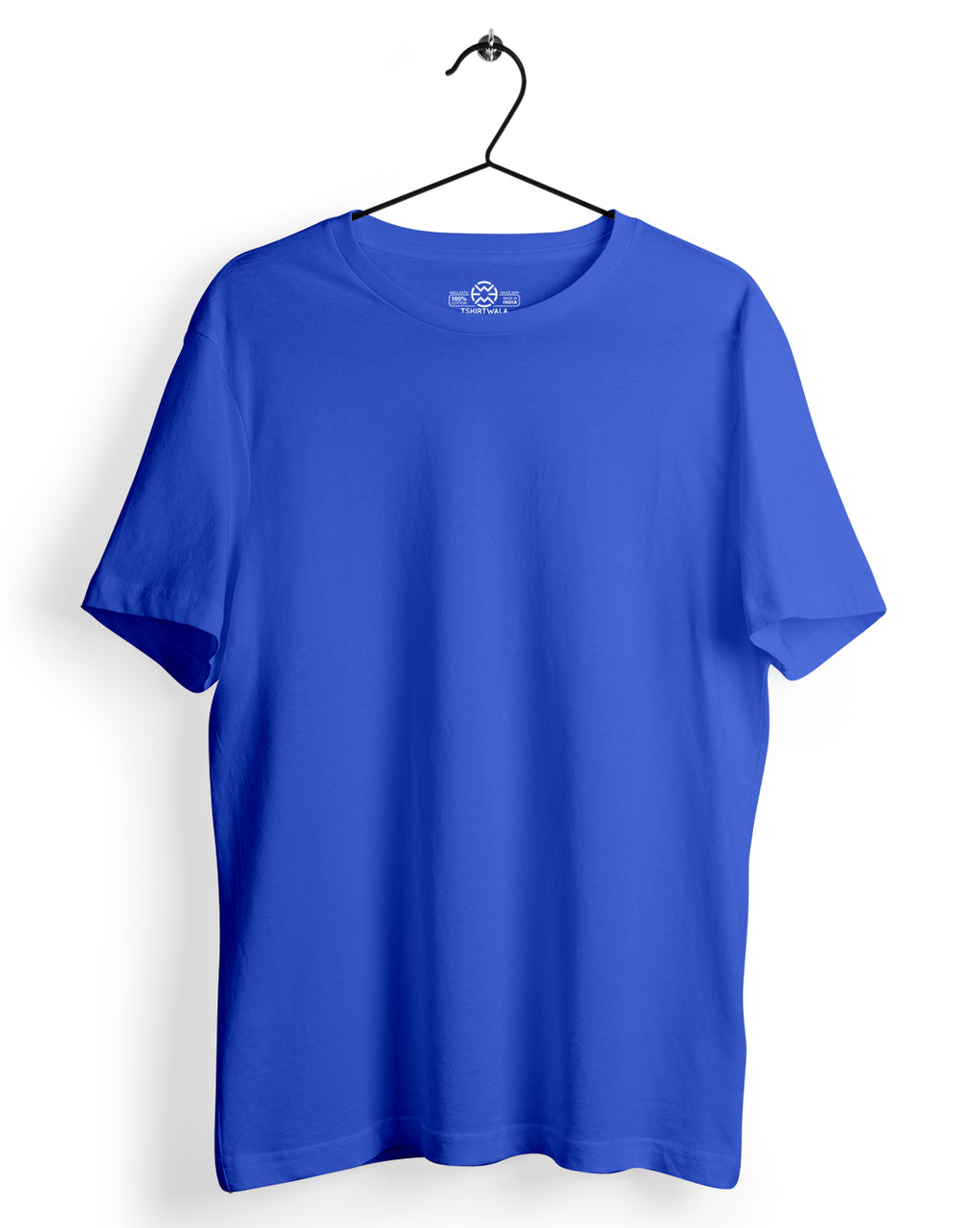 Basic Royal Blue Round Neck Tshirt