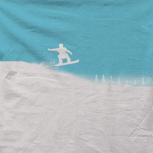 Skiing - All Over Print T-shirt