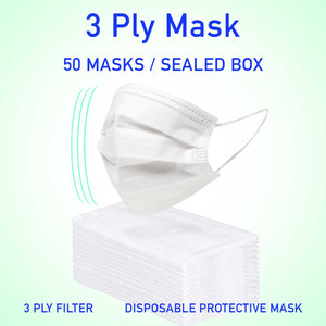 3 Ply Filter Protective Mask