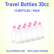 Load image into Gallery viewer, Refillable container bottles 30cc 10 count