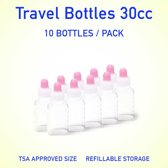 Refillable container bottles 30cc 10 count