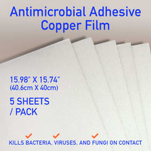 Load image into Gallery viewer, Antimicrobial Adhesive copper Film