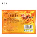 10 Pcs Wild bees venom massage Essential oil Patches for lymphatic drainage Neck Shiatsu Massage promote blood circulation