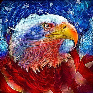 American Patriot Eagle DIY Diamond Painting