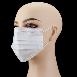 20pcs Disposable Medical Face Mouth Masks Non Woven Anti-Dust Earloops Mask COD masks for germ protection