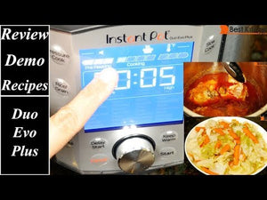 Instant Pot Duo Evo Plus Review Demo Recipes