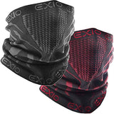 Winter Neck Warmer Gaiter/Balaclava (1Pack or 2Pack) - Windproof Face Mask for Ski, Snowboard