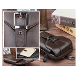 Belt Clip Pouch Genuine Leather Waist Bag Clip Belt Pouch Smart Phone Holster bags 5.8/6.0inch