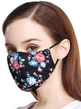 Mouth Face cover Cotton Dust Reusable and Washable Fashion Cute Adjustable Protection Half Cloth Shields for Pollution,Pollen,Smoke, Running, Personal Health