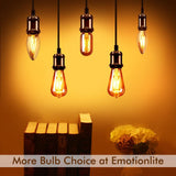 LED Light Bulbs Dimmable Vintage Edison Tubular Bulb