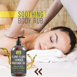 herapeutic Sensual Body Lotion Cream - Essential Oils for Deep Tissue Relaxation, Sore Muscle Tension Relief