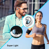Wireless Earbuds, Bluetooth 5.0 Earbuds with 140H Playtime