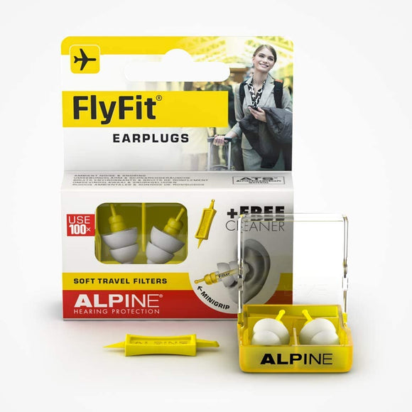 Hearing Protection Airplane Ear Plugs – Pressure Regulating Reusable Ear Plugs Prevent Ear Pain - Soft Travel Ear Plugs – Sleep or Chat with the Hypoallergenic No Silicone Earplugs