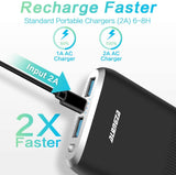 Cell Phone External Battery Packs TG90 10000mAh Power Bank Portable Charger Compatible with iPhone iPad HTC Nexus Android Phone Power Packs