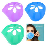 3D Bracket Cool Silicone Mask Inner Support Lipstick Protection for Kids for Adults