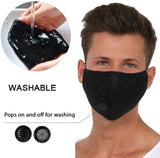 Fashion Unisex Washable and Reusable Face mask Cotton