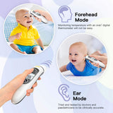 Baby Thermometer, Thermometer for Fever Ear and Forehead, Kid and Adult Thermometer