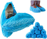 Guys Premium Disposable Boot & Shoe Covers Durable, Water Resistant, Non-Slip