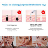 Blackhead Remover Vacuum - Electric Blackhead Removal Tools Pore Cleaner Extractor Fast USB Rechargeable Pore Vacuum