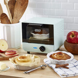 Mini Toaster Oven Cooker for Bread, Bagels, Cookies, Pizza, Paninis