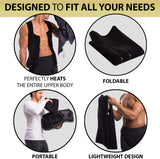 ACCELERATE YOUR WEIGHT LOSS Neoprene Sweat Vest for Men Workout