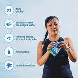 The Body Wipe by ShowerPill - No Shower Wipes for Adults for Post-Workout or Camping Bathing