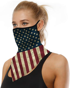 Multifunctional Face Mask Seamless Bandana Headwear Neck Gaiter Scarf Tube Mask Cycling Mask for Women Men Outdoor