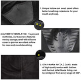 Men's Winter Balaclava Face Mask Cold Weather Windproof Fleece Ski Ninja Mask