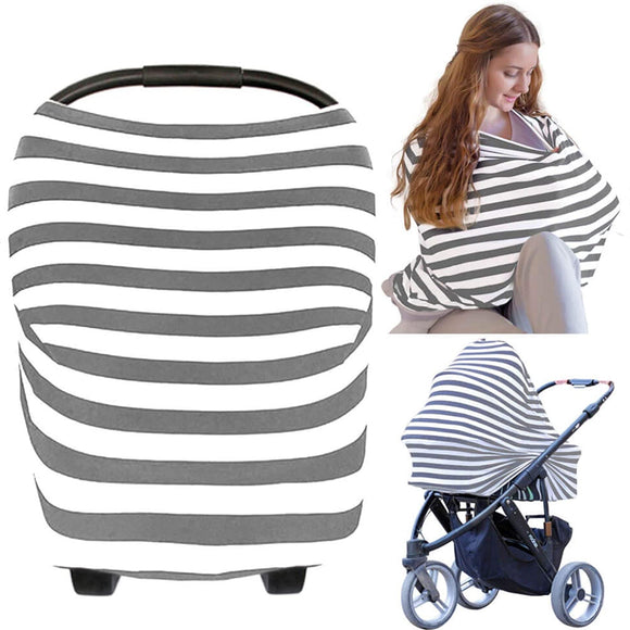Carseat Canopy Cover - Baby Car Seat Canopy KeaBabies - Baby Car Seat Canopies For Boys, Girls - Stroller Covers - Shopping Cart Cover